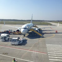 Photo taken at Eindhoven Airport (EIN) by Mike B. on 3/28/2012
