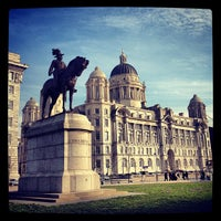 Photo taken at Pier Head by Dave F. on 3/2/2012