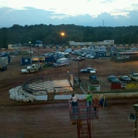 Photo taken at Lancaster Speedway by Richelle B. on 8/5/2012