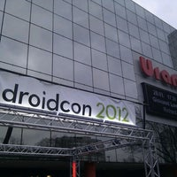 Photo taken at droidcon by Johannes S. on 3/14/2012