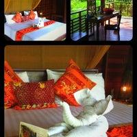 Photo taken at Zeavola Resort by Olivier M. on 2/19/2012