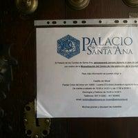 Foto tomada en Palacio Condes De Santa Ana por Pepe T. el 7/9/2012