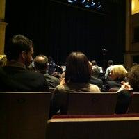 Photo taken at Teatro Ristori by Francesca M. on 3/9/2012