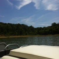 Photo taken at Dead Fish Cove - Clinton Lake by Bill F. on 7/21/2012