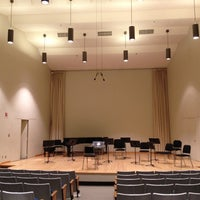 Photo taken at Hvidsten Hall of Music by Gia R. on 2/22/2012