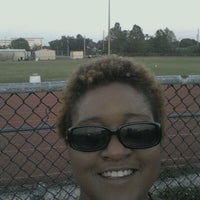 Photo taken at Booker T. Reddick Field by Erica S. on 4/10/2012