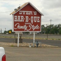 Photo taken at Dyer's BBQ by Sam S. on 7/10/2012