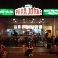 Photo taken at Papa John's by Lucas on 9/6/2012