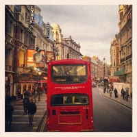Photo taken at Shaftesbury Avenue by Miquel R. on 4/6/2012