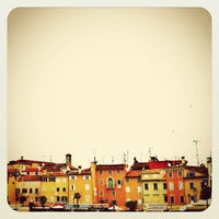 Photo taken at Rovinj Harbor by marianne h. on 6/5/2012