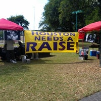 Photo taken at Tranquility Park by Nicholas B. on 6/25/2012