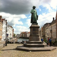 Photo taken at Jan Van Eyck Plein by Trond H. on 7/29/2012