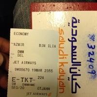 Photo taken at Lufthansa Flight LH 627 by Azmieq S. on 3/19/2012