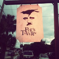 Photo taken at Poe's Tavern by Lucretia G. on 5/13/2012