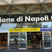 Photo taken at Napoli Centrale Railway Station (INP) by Carlton J. on 8/12/2012