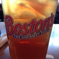 Photo taken at Boston's Restaurant & Sports Bar by Tricia M. on 4/24/2012