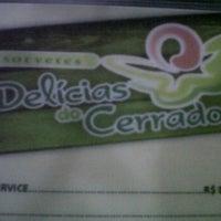 Photo taken at Delicias do Cerrado by Diego C. on 3/11/2012