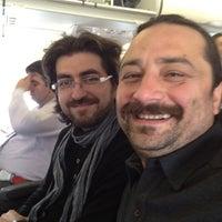 Photo taken at Gate 217 by Bora C. on 4/17/2012