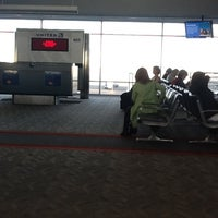 Photo taken at Gate B71 by Mike R. on 2/22/2012