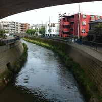 Photo taken at かるがも橋 by Nao on 9/2/2012