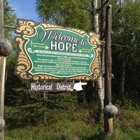 Photo taken at Hope, Alaska by Eddie Y. on 5/26/2012