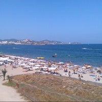 Foto scattata a Ciao Ciao, Playa D'en Bossa, Ibiza da Andreas M. il 7/31/2012