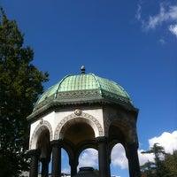 Photo taken at German Fountain by İshak B. on 8/31/2012