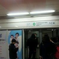 Photo taken at Yongmun Stn. by Jongil Y. on 4/1/2012