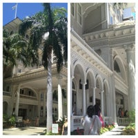 Photo taken at Moana Surfrider, A Westin Resort & Spa, Waikiki Beach by Christa W. on 8/21/2012