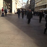 Photo taken at Navetta Mondadori San Babila by Ellispatrion on 3/11/2012