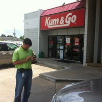Photo taken at Kum & Go by Corey T. on 6/21/2012