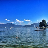 Photo taken at Chiemsee by Elza A. on 6/16/2012