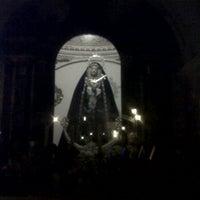 Photo taken at Capilla de los Dolores del Puente by Carlos Ismael S. on 2/16/2012