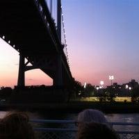 Photo taken at Robert F. Kennedy Bridge (Triborough Bridge) by Jeremy S. on 8/23/2012