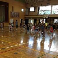 Photo taken at 浦賀小学校 by tajitajiko on 9/1/2012