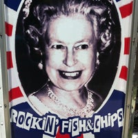 Photo taken at Cod Save The Queen by Abby P. on 6/1/2012