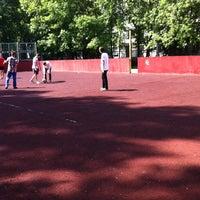 Photo taken at Школа №1287 by Marina✡ K. on 5/21/2012