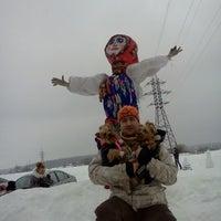 Photo taken at Горнолыжка by Юра K. on 3/3/2012