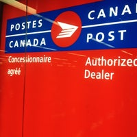 Photo taken at Postes Canada Post by Isabel P. on 8/23/2012