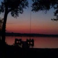 Photo taken at white sand lake by Garrett M. on 7/22/2012