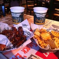 Photo taken at Wingstop by Yesenia C. on 9/1/2012
