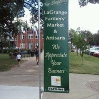 Photo taken at La Grange Farmers Market by Shannon E. on 8/11/2012