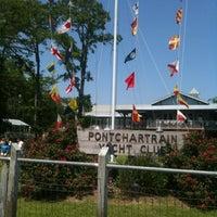 Photo taken at Pontchartrain Yacht Club by Cindy M. on 4/15/2012