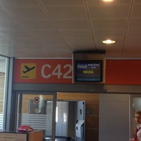 Photo taken at Gate C42 – T1 (MAD) by Ángel R. on 8/3/2012