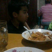 "Photo taken at Mie Kluntung/Nasi Goreng Jawa ""Pak Muji"" by Vega A. on 7/7/2012"