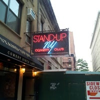 Photo taken at Stand Up NY by Brett H. on 6/10/2012