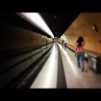 Photo taken at MTR Sheung Wan Station by Sophie L. on 5/20/2012