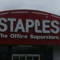 Photo taken at Staples by Rachel B. on 4/26/2012