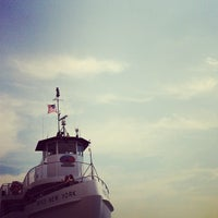Photo taken at Statue of Liberty Ferry by Hazel S. on 7/26/2012