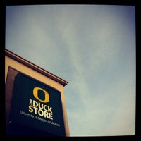 Photo taken at The Duck Store by Bowerman's Pack on 4/2/2012
